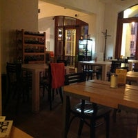 Photo taken at Public Cafe by Kacper S. on 3/10/2013