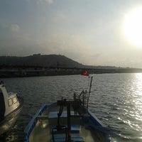 Photo taken at 100.Yıl Marina by Zeynep U. on 8/9/2013