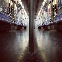 Photo taken at MTA Subway - Canarsie/Rockaway Pkwy (L) by Dominick-Daniel B. on 3/30/2013