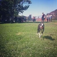 Photo taken at Laguna Canyon Dog Park by Brigid J. on 6/16/2013