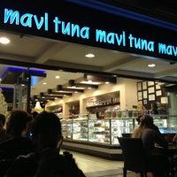 Photo taken at Mavi Tuna by Kevser C. on 7/10/2013