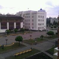 Photo taken at Майдан Свободи by Leonid N. on 5/14/2013