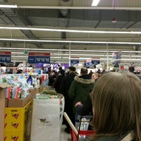 Photo taken at Tesco by Aleks D. on 4/3/2013