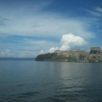 Photo taken at Spiaggia Libera Lago di Bolsena by TuscanyLatium D. on 7/27/2014