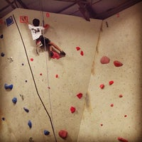 Photo taken at Ibex Climbing Gym by Lawrence L. on 5/11/2013