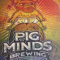 Photo taken at Pig Minds Brewing Co. by Jenna K. on 4/26/2015