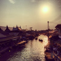 Photo taken at Amphawa Floating Market by Nickie P. on 2/9/2013