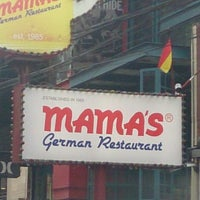 Photo taken at Mama's German Restaurant by Ari H. on 11/16/2014
