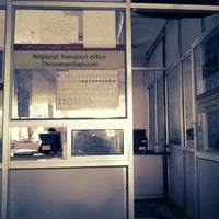 Photo taken at Regional transport office by Harikrishnan P. on 3/12/2013