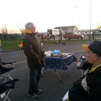 Photo taken at WVU Brown Lot by Kathy S. on 11/17/2012