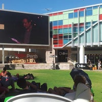 Photo taken at Northbridge Piazza by Fiona T. on 2/28/2013