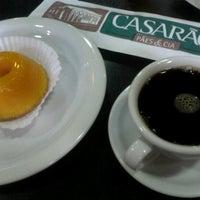 Photo taken at Casarão Pães & Cia by Lucas R. on 1/28/2013
