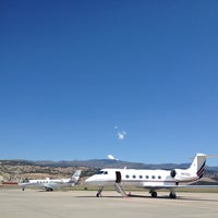 Photo taken at Vail Valley Jet Center (EGE) by Michi B. on 8/19/2013