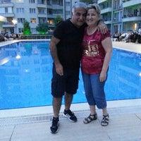 Photo taken at Ay Işığı Havuz Başı by Muzaffer B. on 6/14/2014