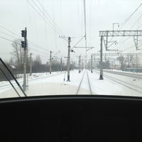 Photo taken at Переезд by Alex I. on 2/23/2013