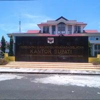 Photo taken at Kantor Bupati Minahasa Selatan by Ghina M. on 3/25/2013
