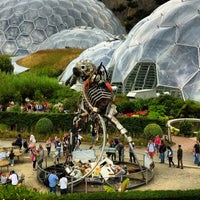 Photo taken at The Eden Project by Fanie P. on 2/12/2013