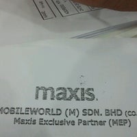 Photo taken at Maxis Exclusive Partner by Muhammad U. on 4/17/2013