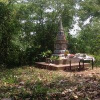 Photo taken at เจดีย์ ปู่ - ย่า พงศ์อร่าม by Phuttaan P. on 4/14/2014
