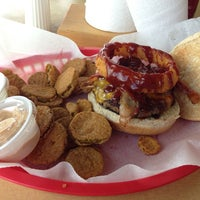 Photo taken at Teddy's Burger Joint by David W. on 8/21/2013