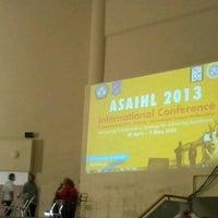 Photo taken at Airlangga convention center by Tita K. on 5/2/2013