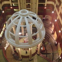 Photo taken at Concierge Lounge at Marriott Riverwalk by Kate @. on 11/29/2013