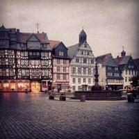 Photo taken at Hessischer Hof by Sebastian A. on 10/8/2013