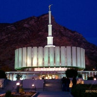 Photo taken at Provo Utah Temple by Robert T. on 10/27/2012