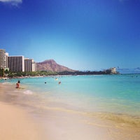 Photo taken at Waikīkī Beach by hayato on 5/31/2013