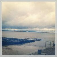 Photo taken at Enniscrone Pier by Savannah D. on 2/16/2013