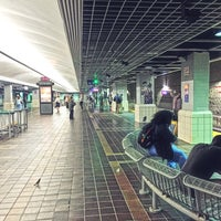 Photo taken at RTA Tower City Rapid Station by Luis C. on 9/18/2017