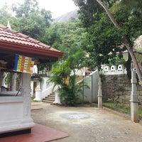 Photo taken at Athkada Raja Maha Viharaya by Sasika M. on 12/14/2013