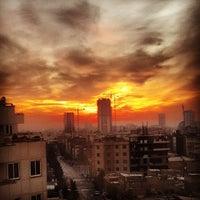 Photo taken at Sayyad Shirazi Boulevard | بلوار صیاد شیرازی by MohammadAmir A. on 1/10/2014