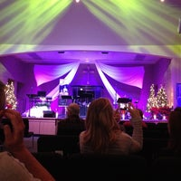 Photo taken at Faith Church by Opalized Designs S. on 12/24/2012