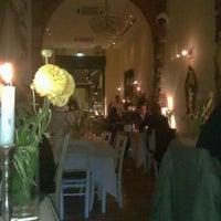 Photo taken at Zerodue Restaurant by Katarina P. on 4/11/2013