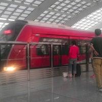 Photo taken at Subway T3 Terminal Station by Luis M. on 5/4/2013