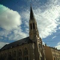 Снимок сделан в Лютеранская церковь Святого Михаила пользователем Ксения С. 6/17/2013