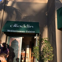 Photo taken at Aladdin Mediterranean Hillcrest by Deborah C. on 4/5/2016