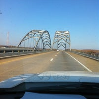 Photo taken at Luther Draffen Bridge by Mike R. on 11/8/2012