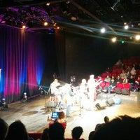 Photo taken at Hangar Theatre by mashfiqui r. on 4/19/2014
