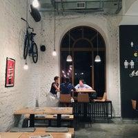 Снимок сделан в DRUZI cafe & bar пользователем Юлия Л. 8/18/2015