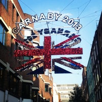 Photo taken at Carnaby Street by Polina L. on 7/6/2013