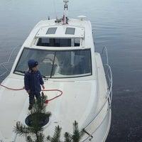Photo taken at Берег. Огурдино by Екатерина П. on 5/24/2014