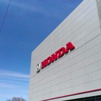 Photo taken at Honda Motors 104'km MKAD by Yuriy O. on 3/11/2013