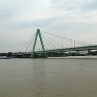 Photo taken at Severinsbrücke by Okrim N. on 6/9/2013