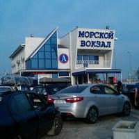 Photo taken at Морской вокзал by Evgeny K. on 8/12/2013