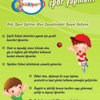 Photo taken at Eskisehir Kidsport by Dilek Naz Ş. on 6/25/2014