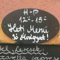 Photo taken at Stelázsi Kávézó, Étterem és Borbár by László S. on 7/14/2016