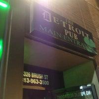 Photo taken at Detroit Pub Greektown by Chris M. on 12/23/2012