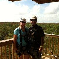 Photo taken at Forever Florida Zipline Safari by Marc P. on 11/12/2012